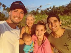 """James Maslow on Instagram: """"Huge congrats to @therealcarlospena @vegaalexa & @oceankingpenavega on their new home in Maui! Great to be here to welcome them in and see…"""""""