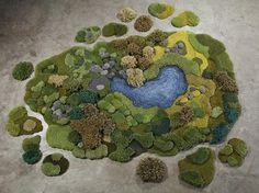 Alexandra Kehayoglou : Hand-Tufts Carpeted Landscapes - ArchiDesignClub by MUUUZ - Architecture & Design
