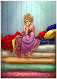 The Princess and the pea inspired shoot