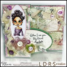 Passionate Paper Creations: LDRS Creative and Ribbon Resource Blog Hop