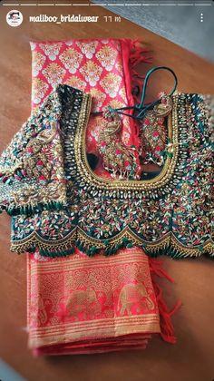 Blouse Back Neck Designs, Cutwork Blouse Designs, Wedding Saree Blouse Designs, Hand Work Blouse Design, Half Saree Designs, Stylish Blouse Design, Fancy Blouse Designs, Sleeves Designs For Dresses, Bridal Photography