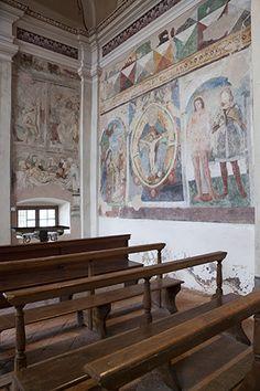 Santuario della Beata Vergine Maria sulla Via Valeriana - Itinerari Brescia - Fotografia di Laura Gatta