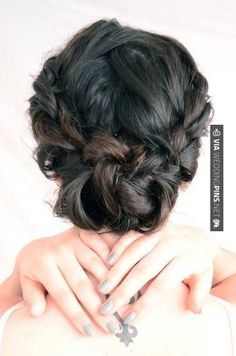 Awesome - Pinned updo