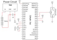 Servo Motor Control - Schematic | PyroElectro - News, Projects & Tutorials