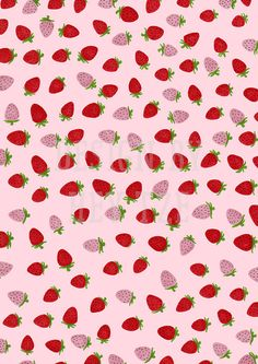 Items similar to Printable Strawberry Gift Wrap - cute spring gift wrap, spring berries gift wrap, purple strawberries, hand-drawn gift wrap, gift wrap on Etsy Brown Paper Wrapping, Gift Wrapping, Strawberry, Wraps, Printables, Fruit, Unique Jewelry, Handmade Gifts, Pink