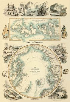 Arctic Regions map: