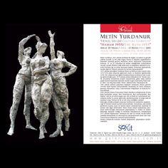 """‼️Davetlisiniz / You are invited‼️ Metin Yurdanur """"Heykel Sergisi/Sculpture Exhibition"""" """"Hamam 1955/The Bath 1955"""" Sergi: 25 Nisan/April - 13 Mayıs/May 2015 Açılış: 25 Nisan Cumartesi, 18:00-20:00 Opening: Saturday April 25, Time: 18:00-20:00 Galeri Soyut, A Salonu www.galerisoyut.com.tr"""