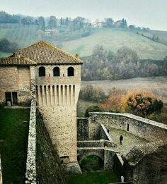 Torrechiara castle, Langhirano, Parma, Emilia Romagna