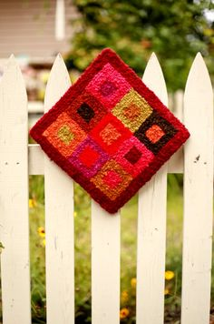 Rug hooking - haven't done it since I was a kid