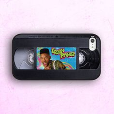 iPhone 5 Case, Hipster iPhone Case, The Fresh Prince, The Fresh Prince iPhone Case, Cassette iPhone on Etsy, $213.20