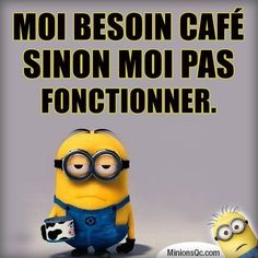 Les Minions - Expressions | textes | phrases - La Carterie Flavie Minion Humour, Motivational Quotes, Funny Quotes, French Quotes, Cool Words, Jokes, Lol, Messages, Humor