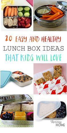 "Delicious mostly ""real food"" lunch box ideas that your kids will actually eat and are a snap to put together!"