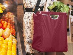 ADK Packworks reusable grocery bag is the perfect lightweight grocery bag and is also great as a farmers market bag