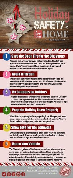 Home Safety Tips Infographic