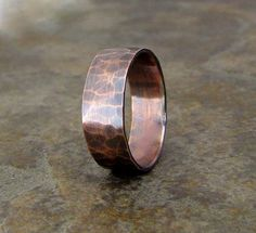 copper ring that Alex and Derrick have #theblackmage