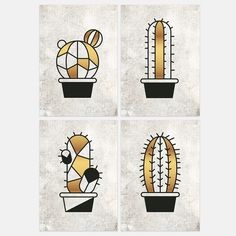 A set of 4 elegant succulent art prints in black, white and gold. Free printable for personal use only. Size: 6X8 in, 14.8X21 cm. All you need to do is to fill in your details on the checkout page and you will receive the download link to your mailbox. To make sure you will not miss out on our next giveaways, we will add you to our newsletter.You can unsubscribe at any time.