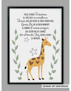 Wenn Du lieber DI… The indicated price Euro) is for a DIN size. If you prefer DIN (for euros), please enter this simply when you order in the comments box. Cute Text, Cricut Baby Shower, Dou Dou, Baby Zimmer, Baby Room Design, Safari Nursery, Kids Room Art, Dream Art, Kid Beds