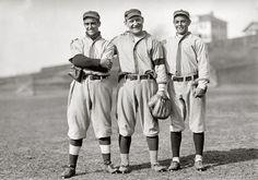 Jacinto Calvo, 'Germany' Schaefer, Merito Acosta, Washington Nationals, ca., 1913