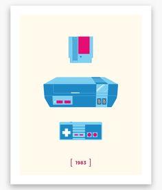 Nintendo minimalist by Helvebula.