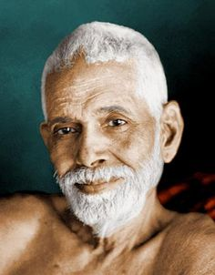 Ramana Maharshi.Great Master.At the age of 17,Ramana Maharshi had a deep experience of the Divine self. It took him several years of silence to dive deeper into his spiritual pursuits.only then he started to teach.