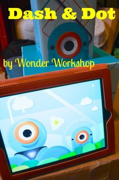 Dash & Dot - a great tool for kids ages 5-10 to learn how to code with robots - a lot of potential in the classroom