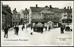 Kristiansund Fra kaien utg: Küenholdt brukt 1942 Kristiansund, Narvik, War Machine, Old Town, Big Ben, Norway, Louvre, Germany, Street View