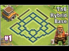 awesome Town Hall 8 Hybrid Base #1 || Clash of Clans [2015]Please Like, Share This Video & Subscribe..!! This is new th8 hybrid base which is highly recommended......http://clashofclankings.com/town-hall-8-hybrid-base-1-clash-of-clans-2015/