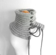 Cuello acordonado / Pipocass - Artesanio