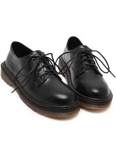 Black+Round+Toe+Lace+Up+Flat+Shoes+30.00