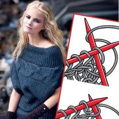 Il maglione del cuore è quello che scalda, abbraccia e fa sentire ben protette. Lo si può comprare in negozio. Ma se lo si confeziona con le proprie mani, lo si amerà ancora di più