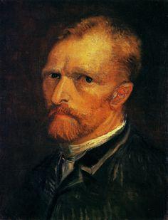 Self-Portrait, 1887 by Vincent van Gogh. Post-Impressionism. self-portrait. Art Institute of Chicago, Chicago, IL, US