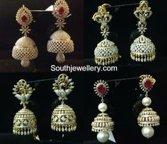diamond_jhumkas_models