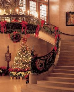 """Biltmore house – """"America's Largest Home"""" ....Christmas is a very special time to visit....Every room has its own Christmas theme......"""
