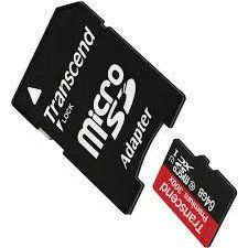 Lifestyle Camcorder Memory Card 2 x 16GB microSDHC Memory Card with SD Adapter 2 Pack Polaroid Cube
