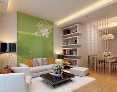 Affordable interior design painting walls living room with white carpet floor