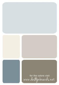 Color Board: Neutral and Blue | Design Boards