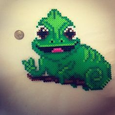 Pascal Tangled perler pattern by sumsweetangel1102