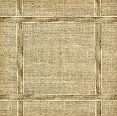 canvas ribbon frame on textile