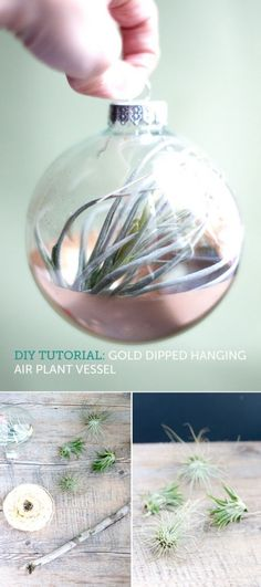 DIY Glass Ornament Projects - Ideas & Tutorials!
