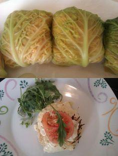 Sorpresas De Repollo Con Bechamel. Recetas, Gastronomía, Food, recipes, Gastronomy