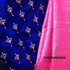 New Saree Blouse Designs, Fancy Blouse Designs, Bridal Blouse Designs, Blouse Neck Designs, Zardosi Work Blouse, Sneha Reddy, Maggam Works, Hand Work Blouse Design, Designer Blouse Patterns
