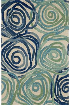 Daze Area Rug - Wool Rugs - Hand-tufted Rugs - Contemporary Rugs - Area Rugs - Rugs | HomeDecorators.com( family room or guest bedroom)