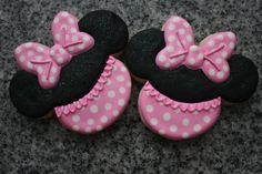 Mickey and Minnie Decorated Sugar Cookies by ChaosinChocolate, $40.00