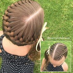 haar kinderen meisjes haar kinderen meisjes Untitled - Hairstyles For Kids - Half Braided Hairstyles, African Hairstyles, Easy Hairstyles, Hairstyles Videos, Pretty Hairstyles, Casual Hairstyles, Hairstyles 2018, Braids For Kids, Girls Braids