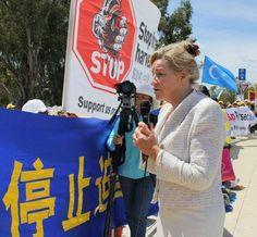國會議員說出來為法輪功在中國 - 澳大利亞自由貿易談判(組圖)|法輪大法 - Minghui.org