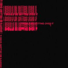 The 1975 - Somebody Else Graphic Design Posters, Graphic Design Inspiration, Gfx Design, Overlays Picsart, Pics Art, Red Aesthetic, The Villain, Vaporwave, Cover Art