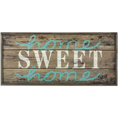 Home Sweet Home Wood Pallet MDF Sign