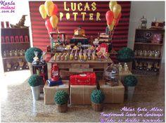 Atelier Karla Milani: Decoração Festa Harry Potter