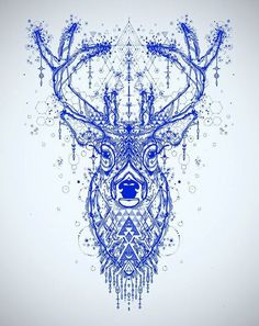 Incredible Deer tattoo sketch | Best Tattoo Ideas Gallery