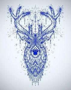 Incredible Deer tattoo sketch | Best Tattoo Ideas Gallery